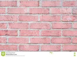 Clean Wall by Vintage Pastel Pink Color Brick Wall Horizontal Clean Background