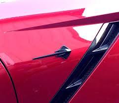 2014 corvette stingray emblem c7 corvette painted stingray fender emblems badges rpidesigns com
