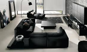 Black Gloss Living Room Furniture Black Living Room Zamp Co