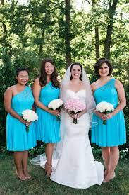 malibu bridesmaid dresses malibu teal blue bridesmaid dresses with one shoulder dj jess