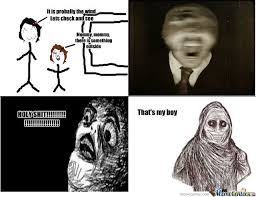 Meme Slender Man - slender man by umbreon77 meme center