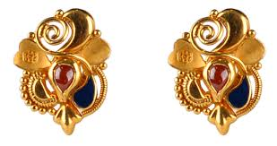 kerala earrings purabi er 8609 13 calcutta design earrings