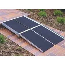 Wheel Chair Ramp Multifold Wheelchair Ramps 5 12 Ft Long X 30