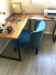 Desk L Diy L Shaped Craft Table Simple L Shaped Desk Best Corner Ideas On