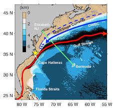 temperature map florida accelerated warming of the continental shelf northeast coast