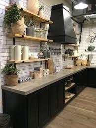 cuisine noir mat et bois élégance et sobriété decoration