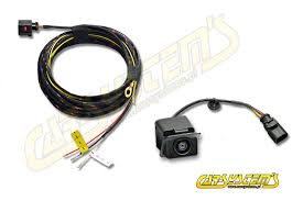 new seat leon rear view camera kit with guidance lines