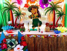 lilo stitch birthday lilo luau dessert table decorations