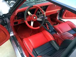 corvette steering wheel cover black theme in a vintage c3 corvette cool steering