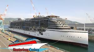 aidaprima cruise ship construction time lapse by