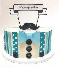 little man baby shower cake the hudson cakery