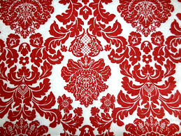 Red Damask Wallpaper Home Decor Red And Black Damask Wallpapers Wallpaperpulse
