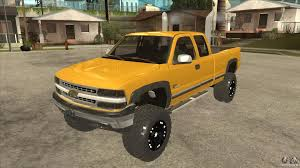 lifted cars chevrolet silverado 2500 lifted for gta san andreas