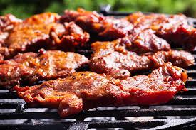 cuisiner joue de porc recette noix de joue de porc confite grillees au barbecue