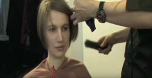 hair makeover videos beautiful hair makeover from shoulder length to short