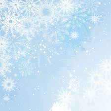light blue christmas background with snoeflakes vector free download
