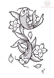 koi fish pisces tattoo sketch in 2017 real photo pictures