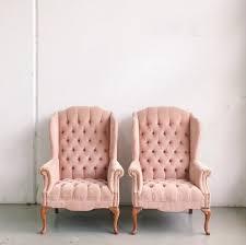 Velvet Wingback Chair Tufted Pink Velvet Wingback Chairs Chicago Wedding Planner