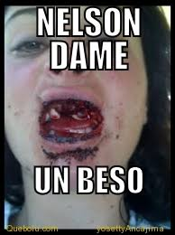 Nelson Meme - nelson dame un beso memes en quebolu