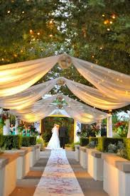 outside weddings 157 best diy tulle wedding decorations images on