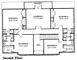southern style house plan 7 beds 3 50 baths 3700 sq ft plan 325 249