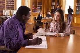 The Blind Side Movie The Blind Side Big Mike And Collins Tuohy Played By Quinton Aaron