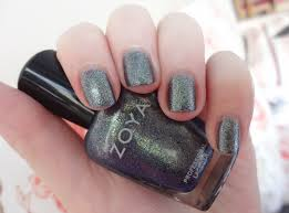 best glitter nail polishes through the looking glass