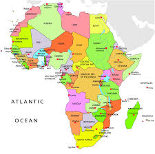 Morocco Africa Map by Map Of Africa With Names Deboomfotografie
