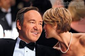 house of cards robin wright hairstyle a look at kevin spacey and robin wright in netflix s house of