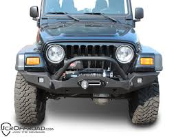 jeep winch bumper jcr vanguard full width front winch bumper tj u0026 lj u2013 alpha dirt