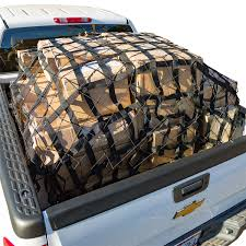 elastic nets truck bed cargo net with elastic net included winterial