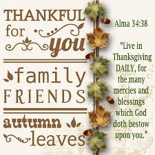 thankful for you family friends autumn leaves thanksgiving quote
