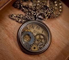 steampunk necklace vintage images Steampunk jewelry pocket watch vintage westclock gears clock jpg