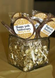 50th anniversary favors 50th wedding anniversary favors to make wedding anniversary