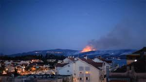 Wild Fire Quincy Ca by Nato Provides Swift Forest Fire Assistance To New Ally Montenegro