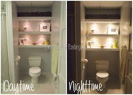 Decorating Bathroom Shelves Best 25 Toilet Shelves Ideas On Pinterest Shelves Over Toilet