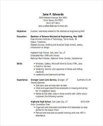Engineering Graduate Resume Sample by 37 Engineering Resume Examples Free U0026 Premium Templates