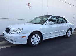 hyundai sonata premium used 2003 hyundai sonata premium pkg at city cars warehouse inc