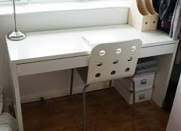 White Office Desk Ikea White Micke From Ikea Ikea Shopping List Pinterest Micke