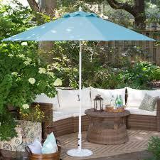 Sunbrella Offset Patio Umbrella Wind Resistant Patio Umbrella Reviews Home Outdoor Decoration