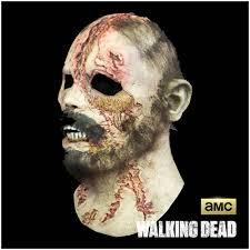 walking dead beard walker zombie mask mad about horror
