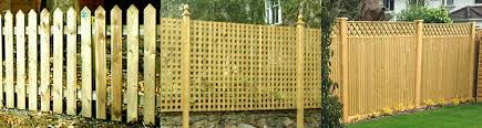 Fence Panels With Trellis Garden Design Garden Design With Garden Fence Panels Fencing