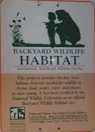 our wildlife habitat my enchanting whims