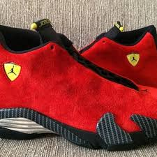 jordan ferrari black and yellow air jordan 14 retro u201cferrari u201d kickgamewavy com
