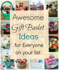unique gift ideas for women themed gift basket roundup themed gift baskets basket ideas and