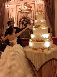 wedding cake kelapa gading the wedding of edrick nonita by finest organizer bridestory