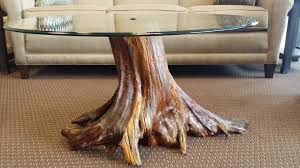 how to make a tree stump table furniture tree stump side table pottery barn natural buy canada