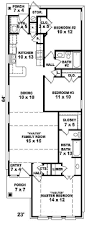 avella ranch narrow lot home plan 087d 0050 house plans and more