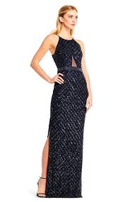 newyork dress aidan mattox flattering halter gown newyorkdress online shopping