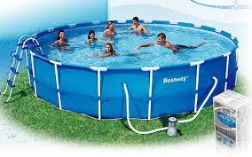 intex 12x30 metal frame pool get ready for summer